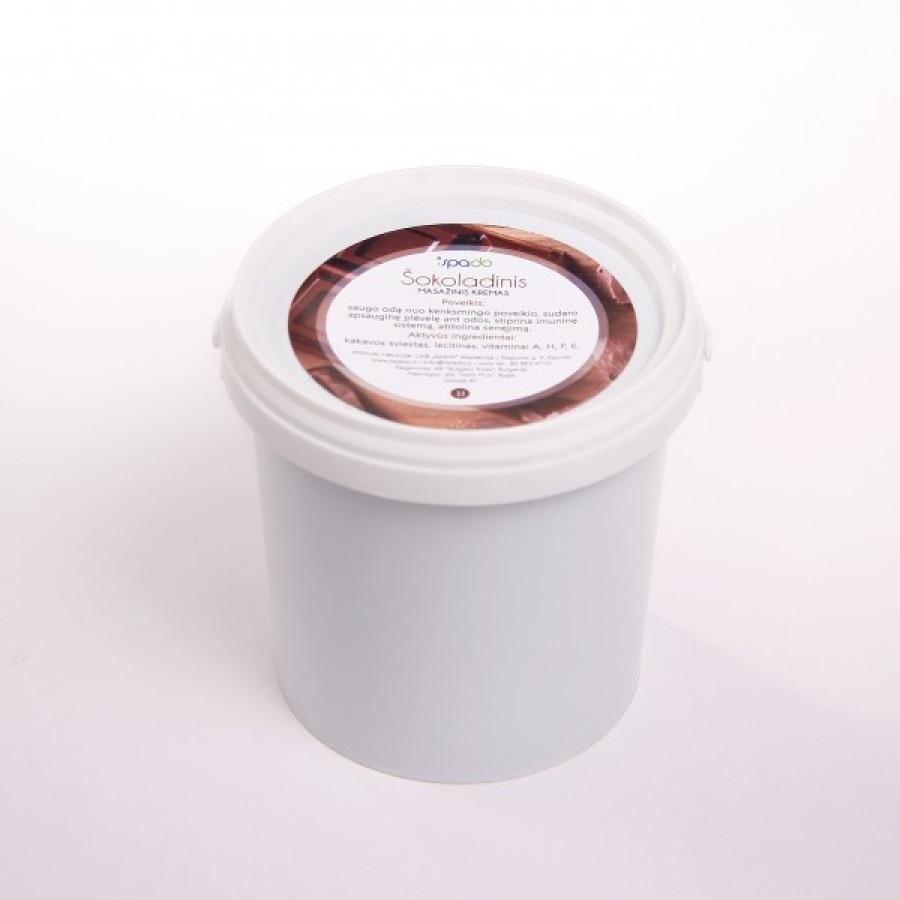 Šokoladinis masažinis kremas